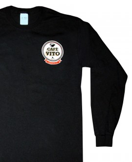 T-Shirt - long sleeves - black - Large