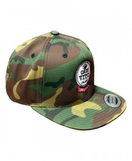 "Baseball Cap - Camo - ""Snap-back"""