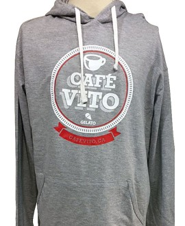 Hoodie - Long Sleeves - Grey
